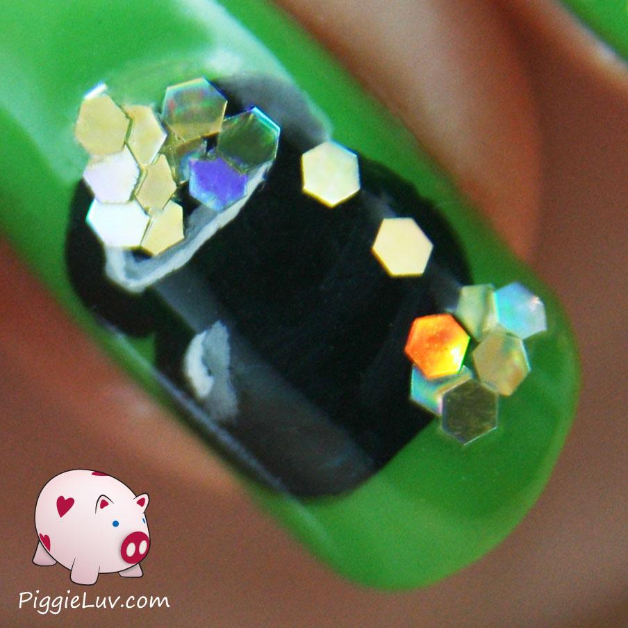 Piggieluv st patricks day nail art st patricks day nail art prinsesfo Gallery