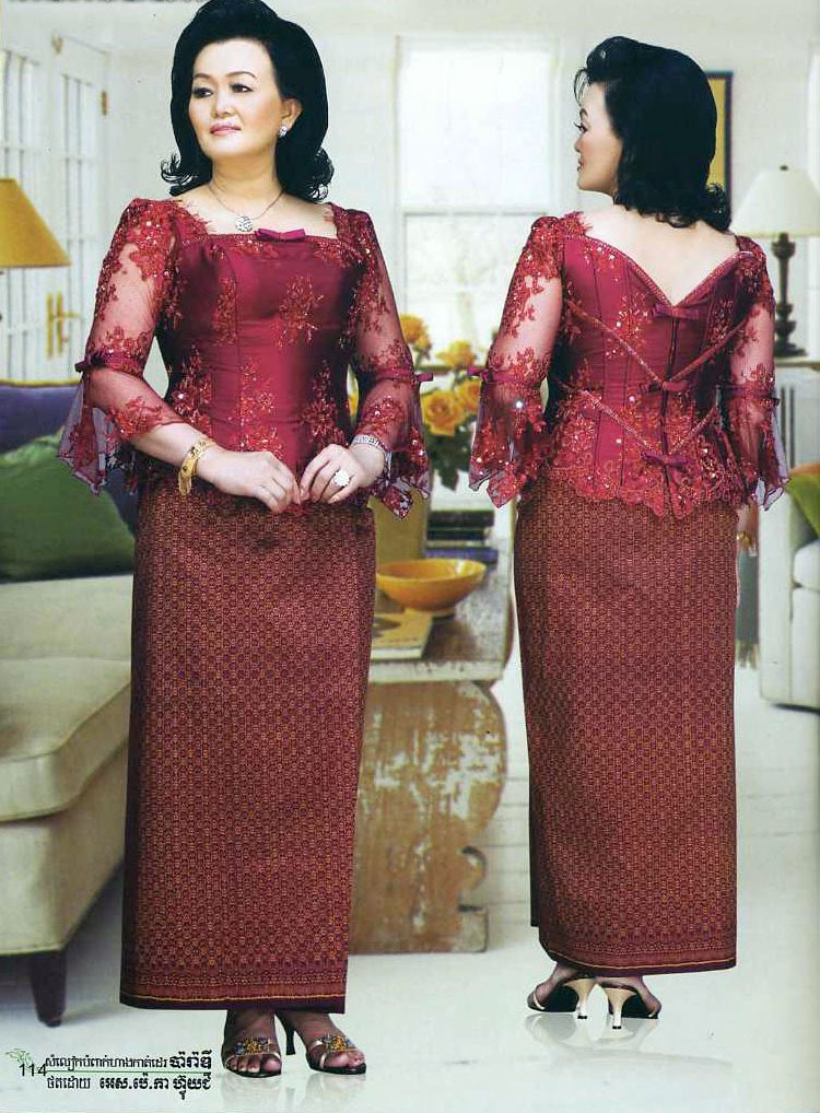 Traditional Khmer Dress