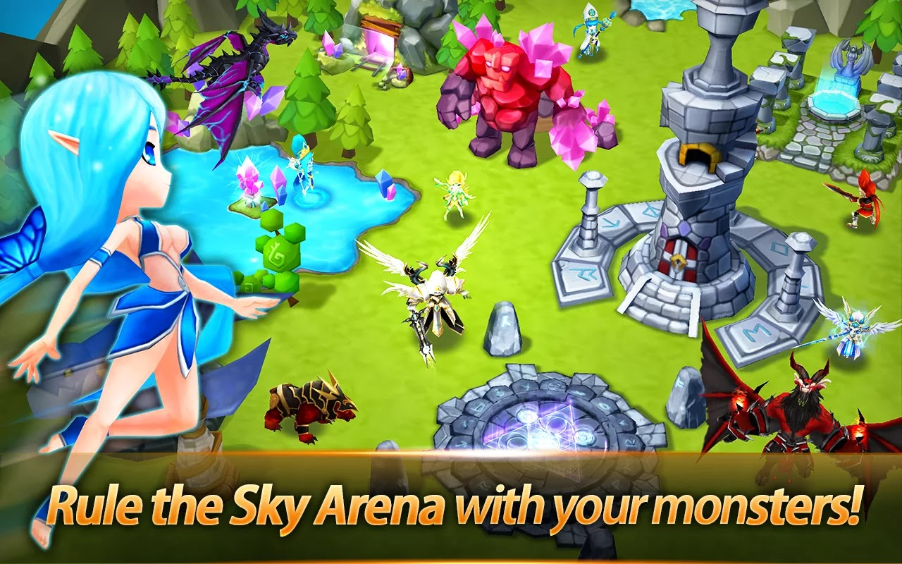 Summoners War Sky Arena Android v1.2.2 apk mod (Rootsuz)