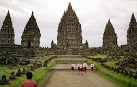 Prambanan UNESCO World Heritage Site in Indonesia