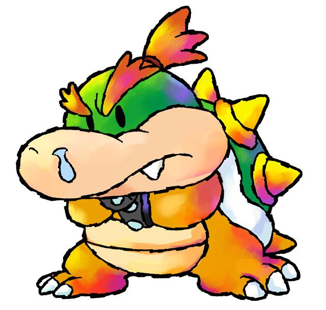 su primera aparicin fue en yoshis island como jefe final y reaparece en mario luigi compaeros en el tiempo junto a su forma adulta - Bebe Mario