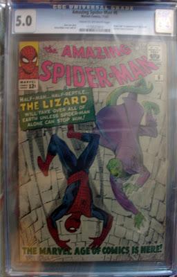 Amazing Spider-Man CGC 5.0 image