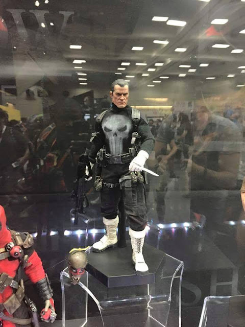 Fantastic Punisher action figure on display at SDCC.