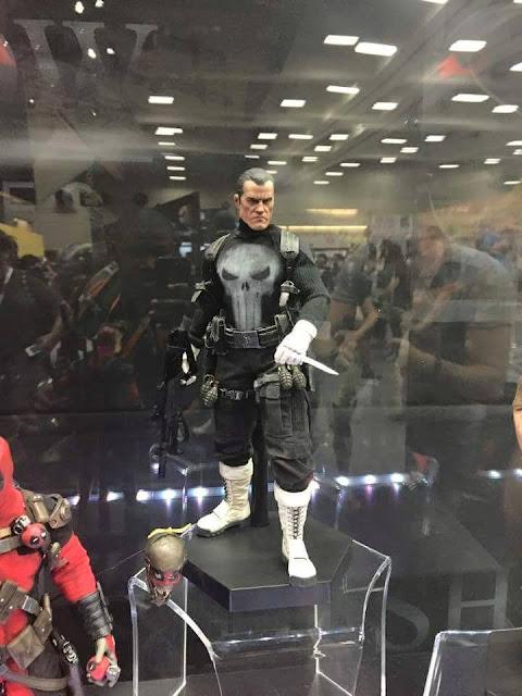 Fantastic Punisher action figure on display at SDCC.