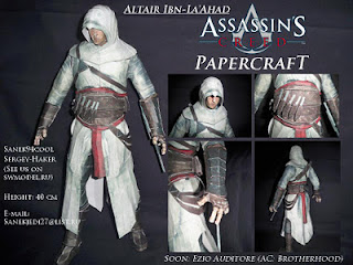 Assassin's Creed Papercraft Altaïr Ibn-La'Ahad