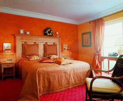 Fotos de dormitorios naranjas dormitorios colores y estilos for Decoracion naranja