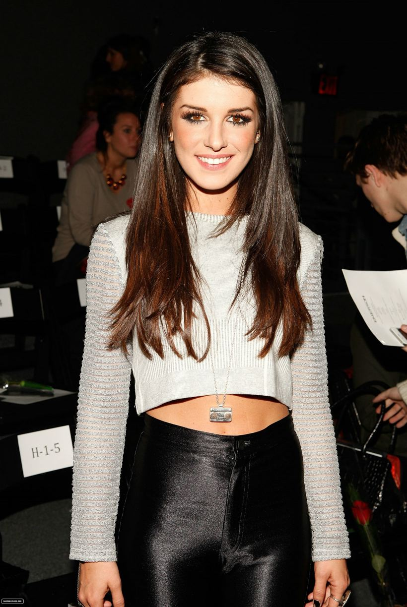 Shenae Grimes @ Nyfw Fall 2012, February 14