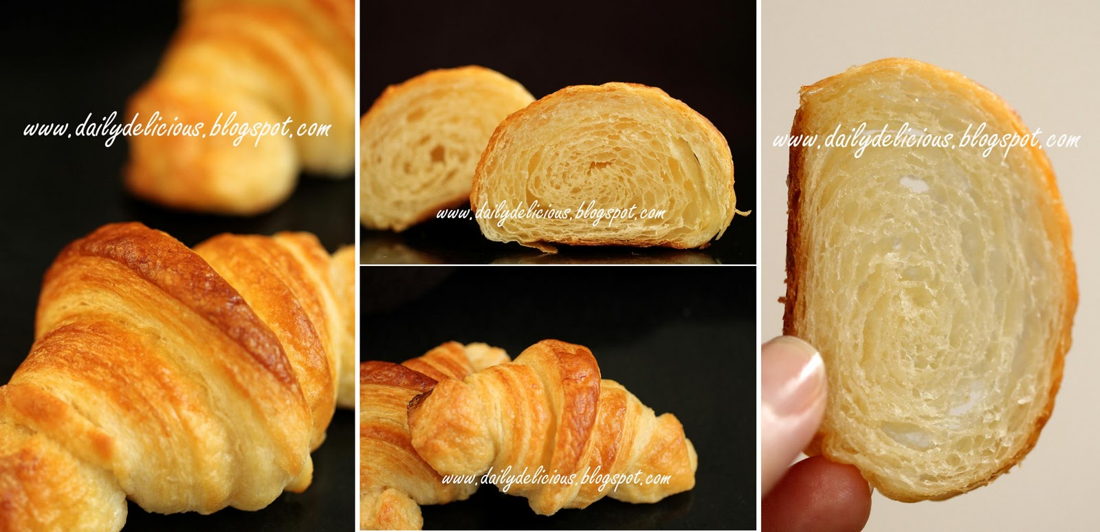 how to make fluffy croissants