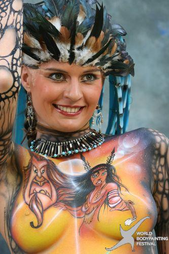 foto body painting: