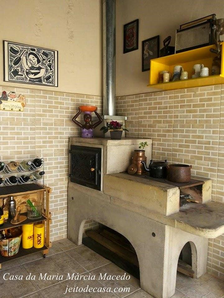 fogao e forno a lenha pré moldados