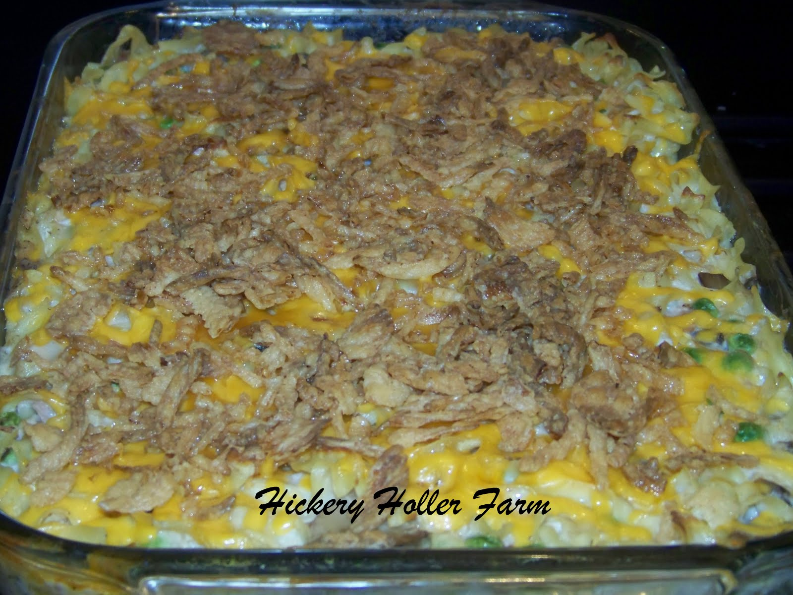 Hickery holler farm tuna casserole and a schedule change for Tuna fish casserole recipe