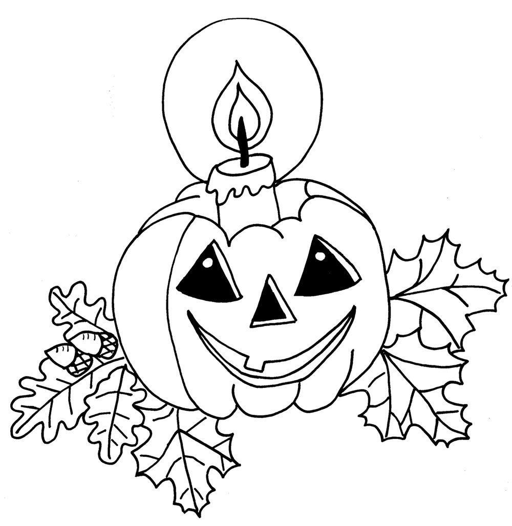 Banco de Imagenes y fotos gratis: Dibujos de Halloween para Pintar 10