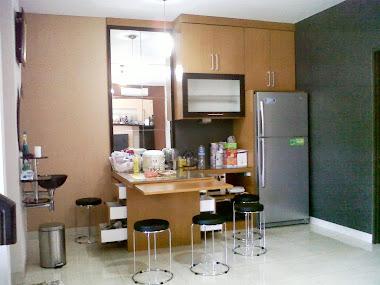 Kitchen set Bapak Gatot Batu Gerga  D/A Raffles Cibubur
