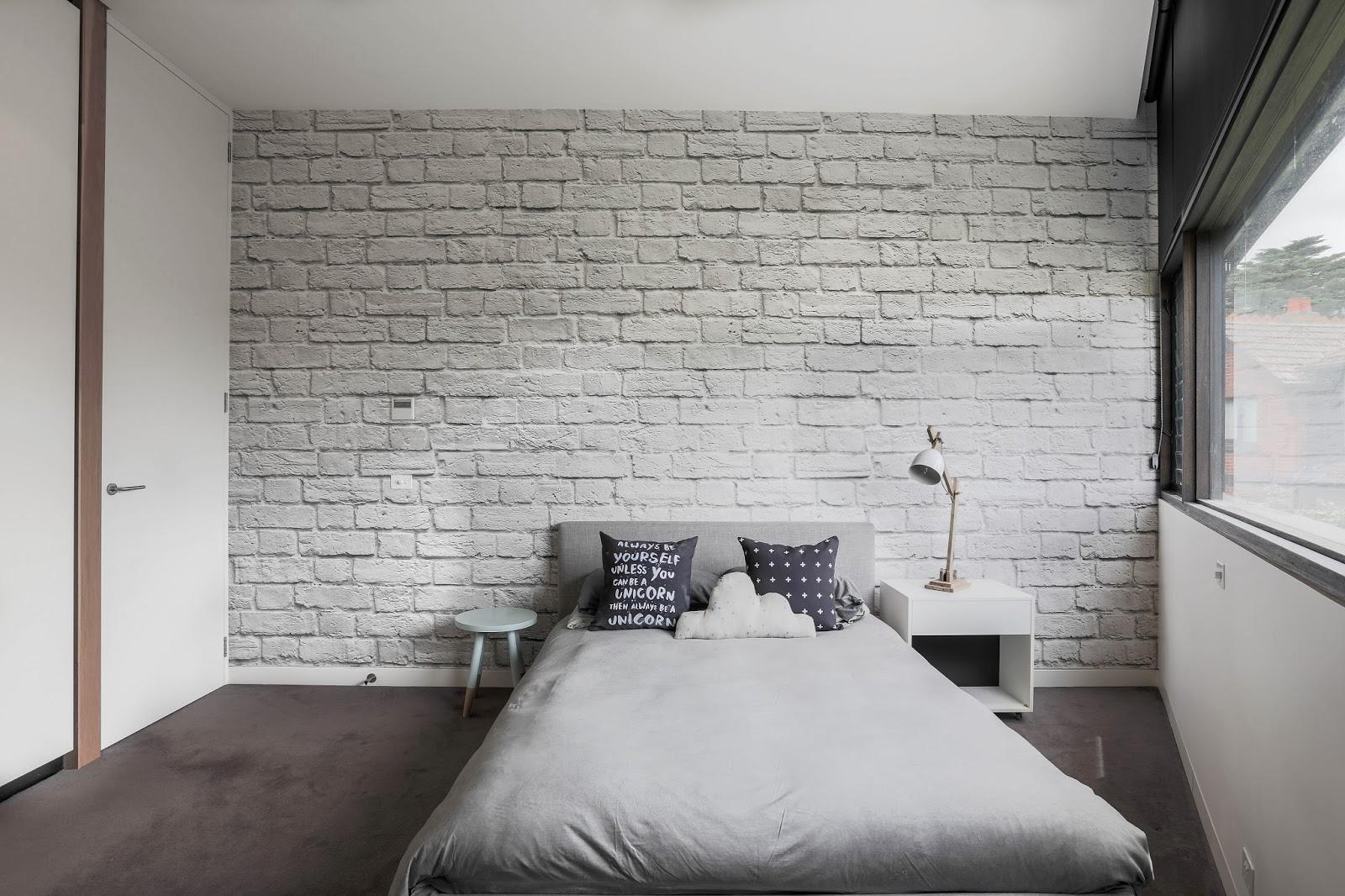 Charmant White Brick Wall