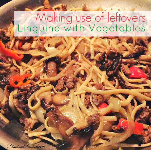 Linguine with Vegetable