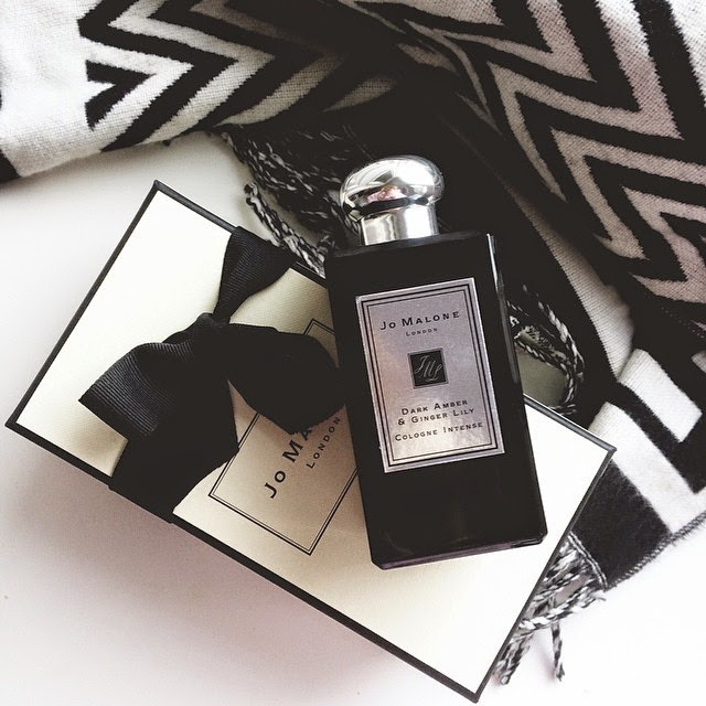 Jo Malone Intense Dark Amber and Ginger Lily Cologne