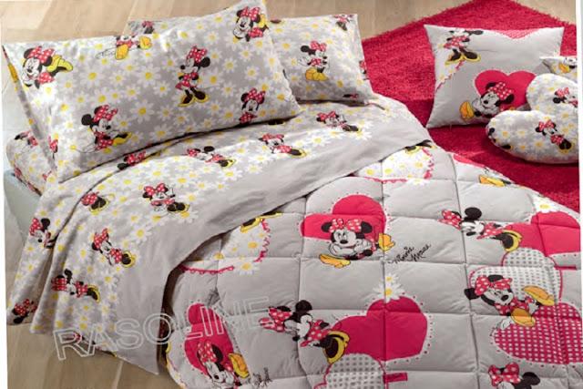 chambre à coucher Minnie Mouse pour fille