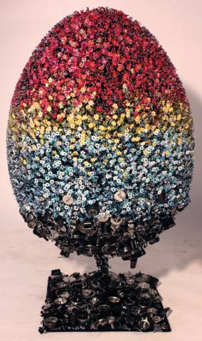 "Congratulations to the Winners of the March "" Faberge Egg"" Challenge"