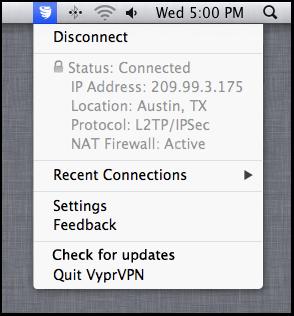 VyprVPN for Mac