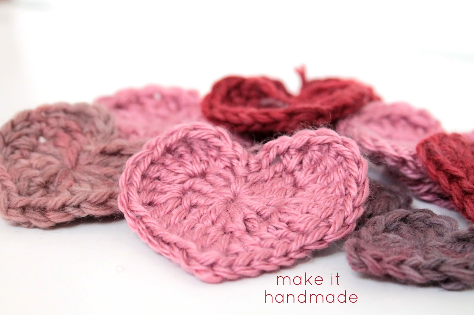 Make It Handmade: 5 Ways Use Your Crochet Hearts