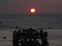 sunset at White Beach Puerto Galera, puerto galera beach, white beach, best beach puerto galera, how to go to puerto galera, batangas puerto galera trip