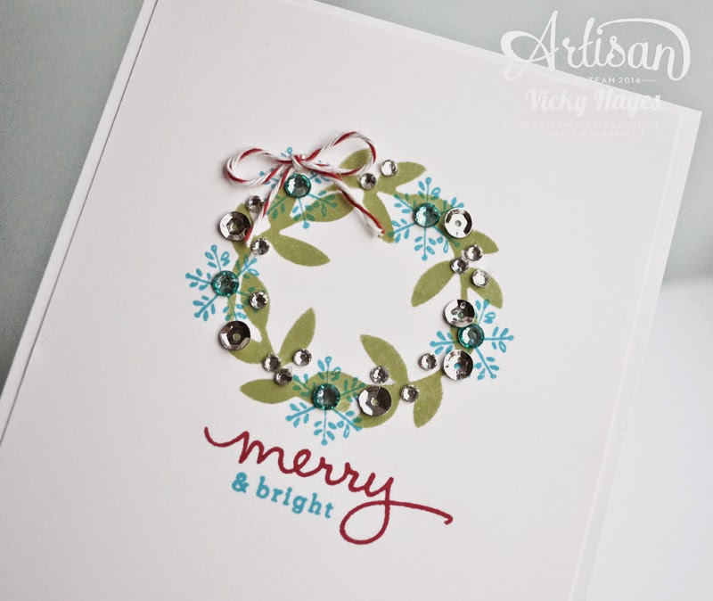 Stampin' Up products including blendabilities, embellishments and bird punch available to buy online from Vicky Hayes UK Stampin' Up demonstrator
