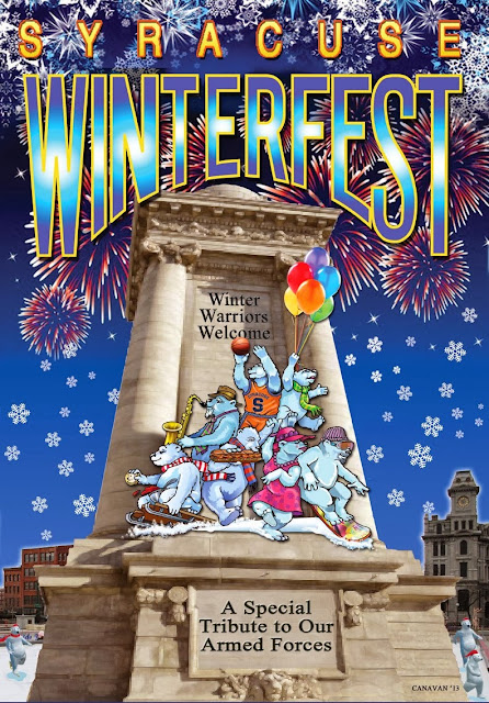 Syracuse Winterfest Poster