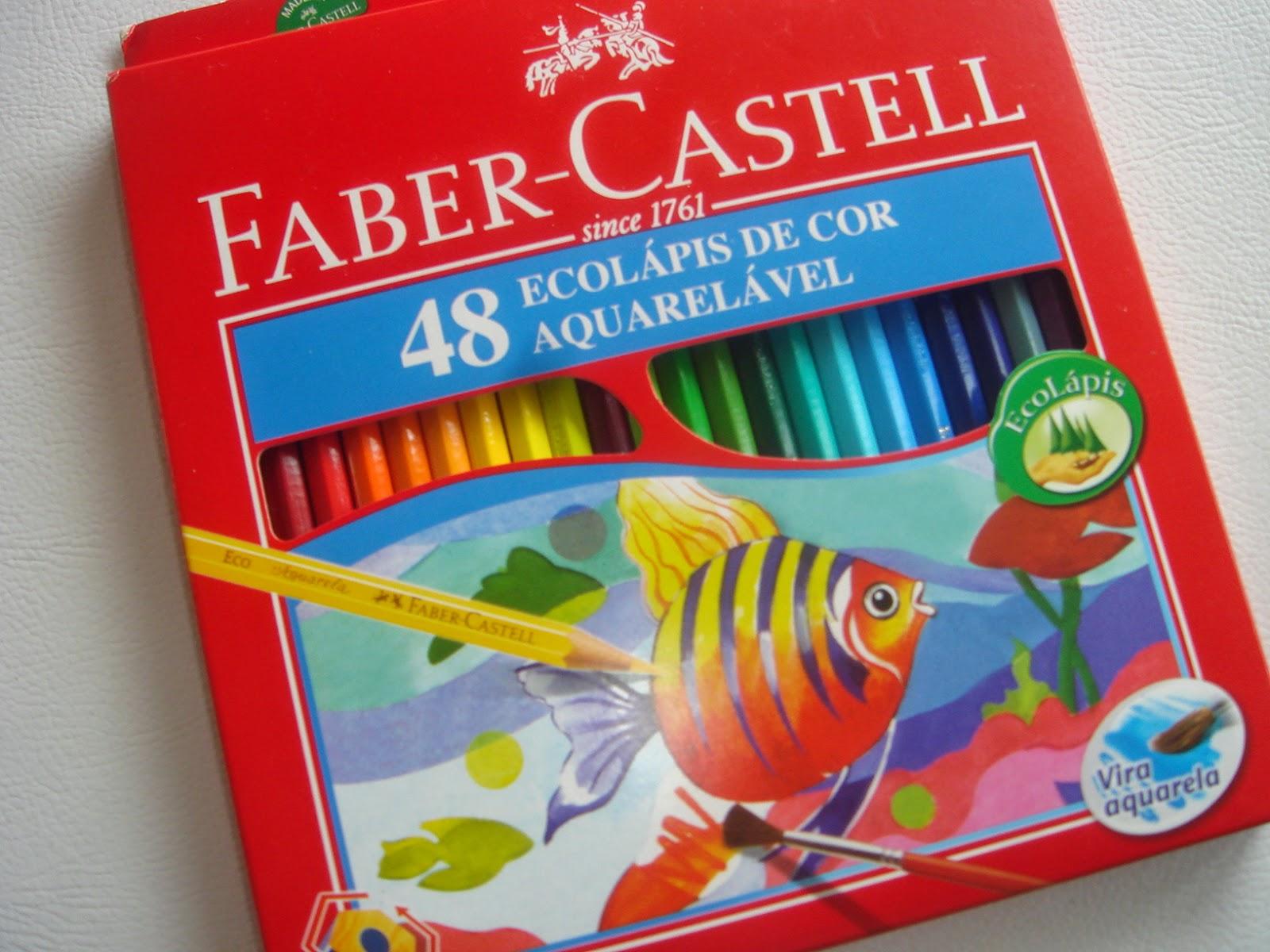 Colorindo com Faber Castell