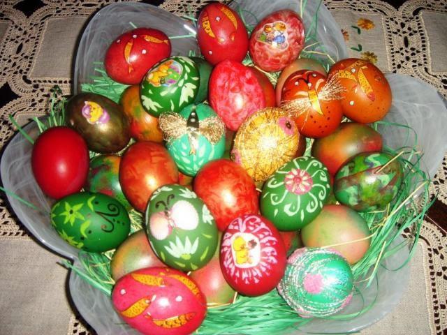best painted easter eggs