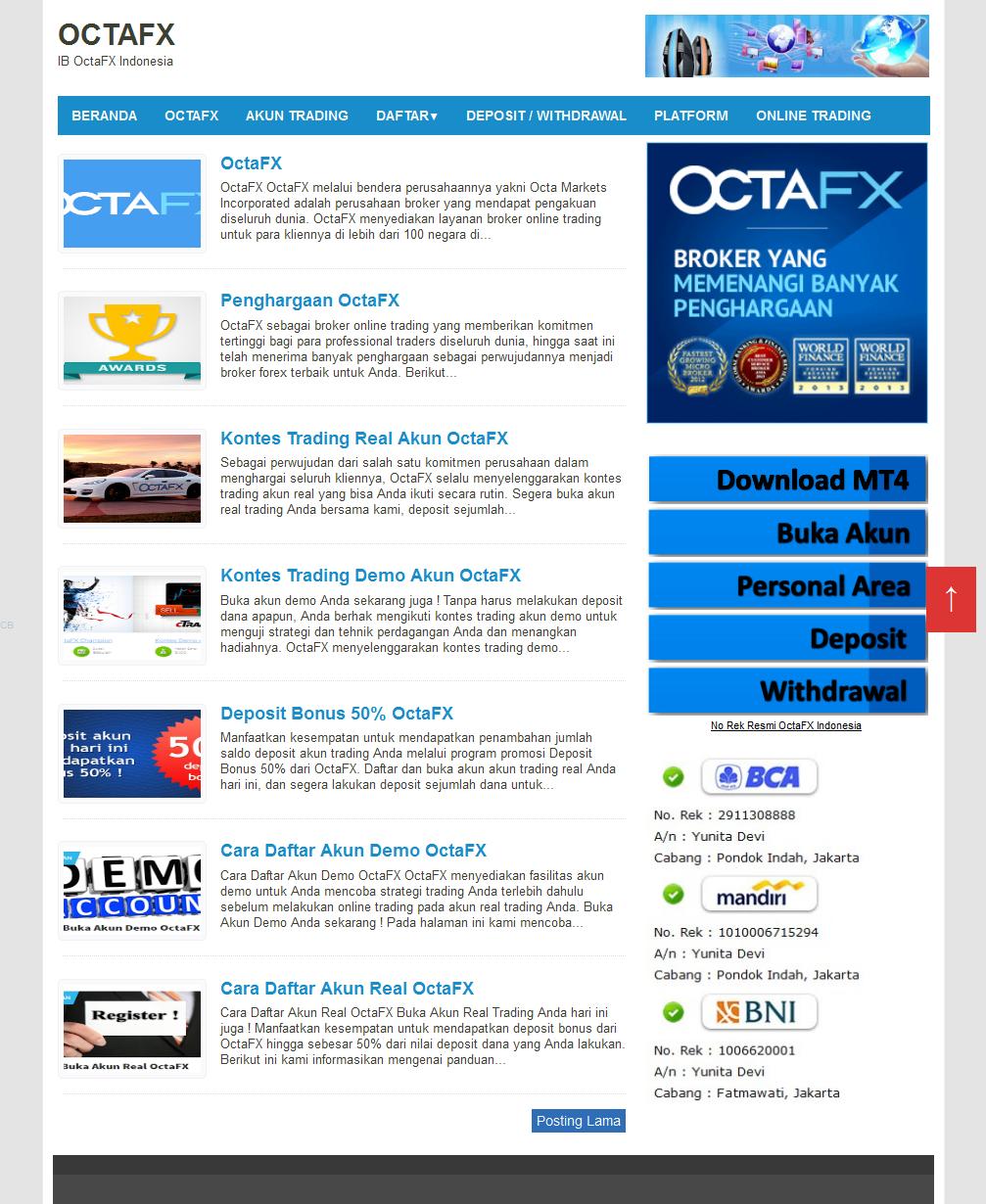 http://octafx.onlinetrading.pro