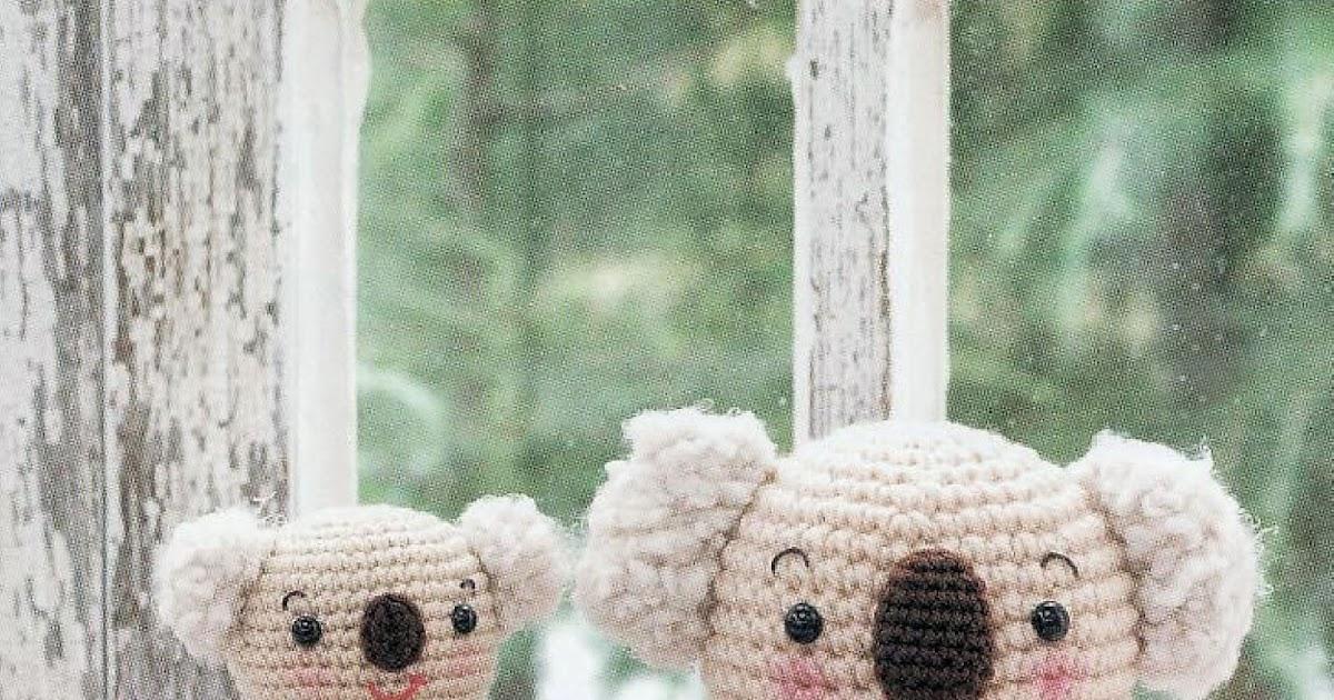 Free Amigurumi Koala Pattern : Best crochet koala images crochet animals