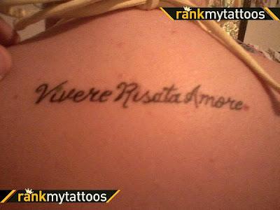 Piersyn Katz Kamilia page Tattoo Quotes In ItalianHayden