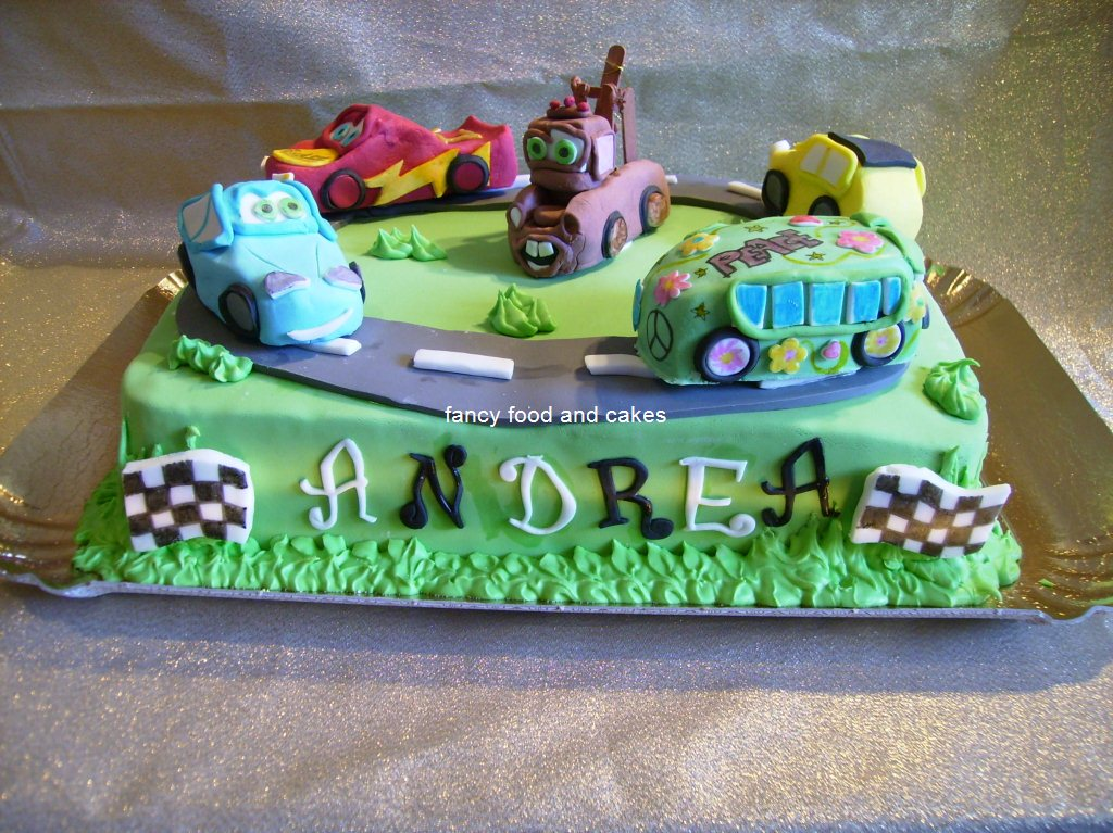 Torte Cake Design Di Cars : fancy food & cakes: Un altra torta di Cars - Another Cars cake