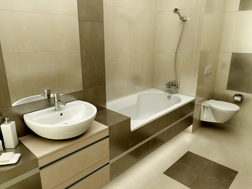 Various Tips For Bathroom Interior Design - Luxury Home Decorating ...