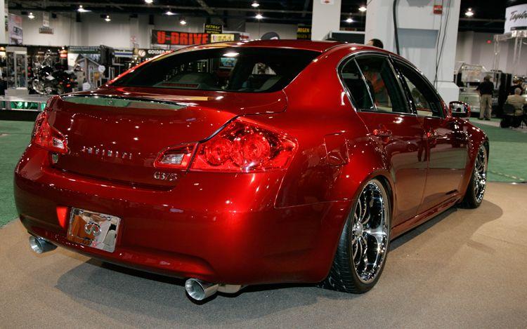 Car Top Of Design Trend Stillen Infiniti G37 And Infiniti G37 Sport Sedan 6mt