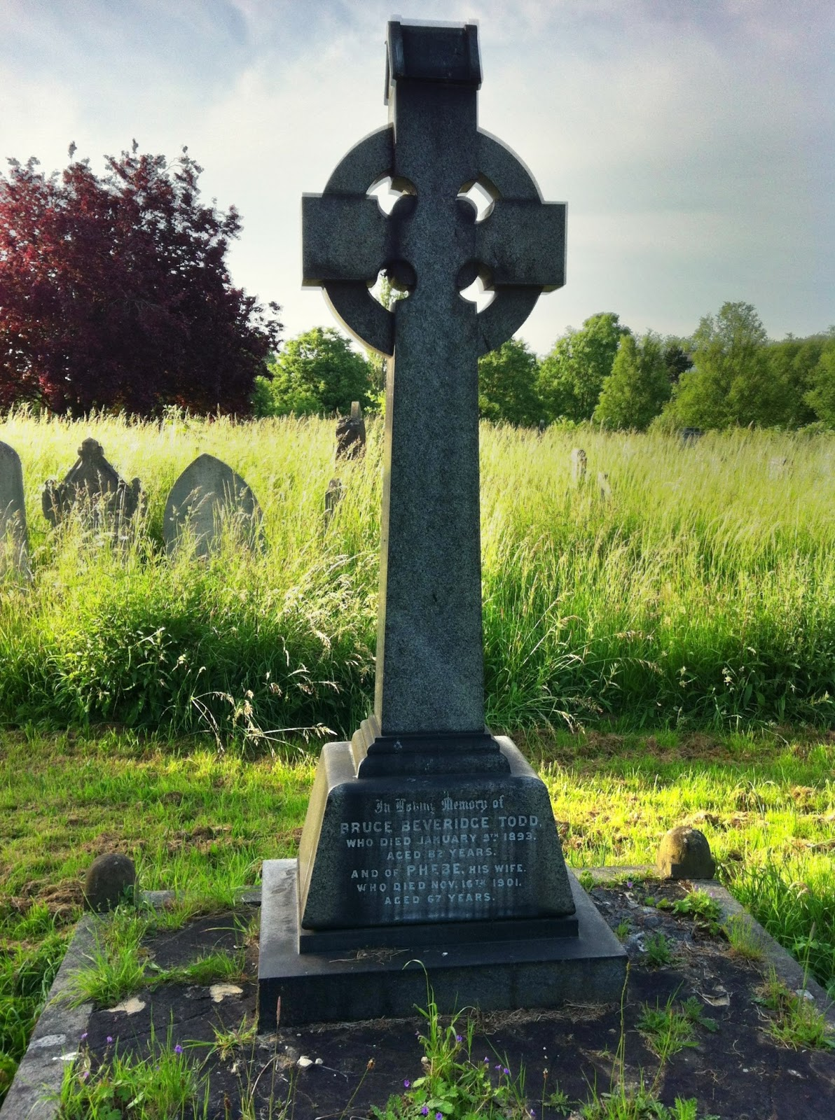 Todd family grave: Alexander Findlater Todd
