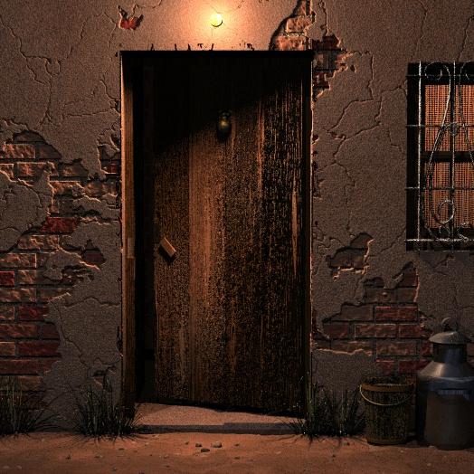 Escalera hasta la luna noviembre 2011 - Puertas viejas de madera ...
