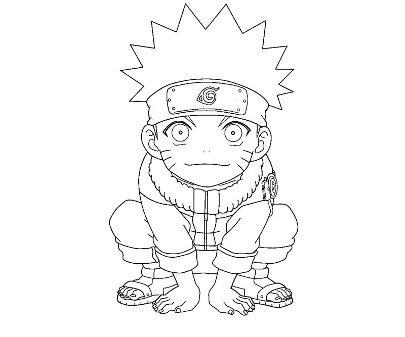 naruto coloring book pages - photo#12