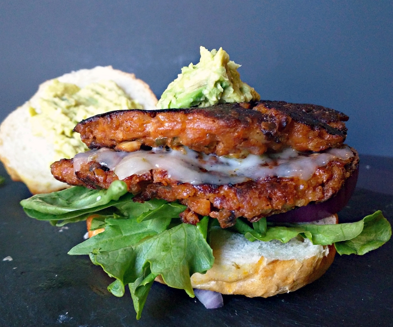 southwest veggie burger patties recipe