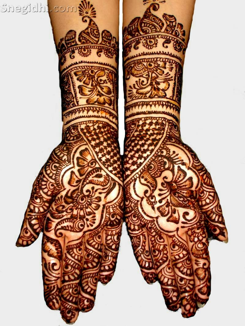 Mehndi Art Photos : Mehndi designs for bridal say