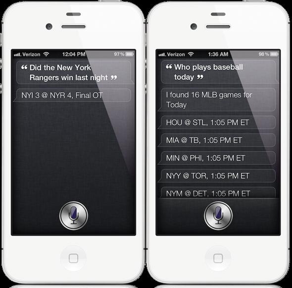 siri iOS 6