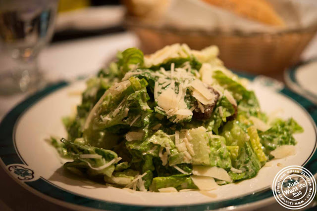 Image of Caesar salad at Empire Steakhouse in NYC, New York