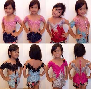 Model Kebaya Anak-Anak Modifikasi Bali