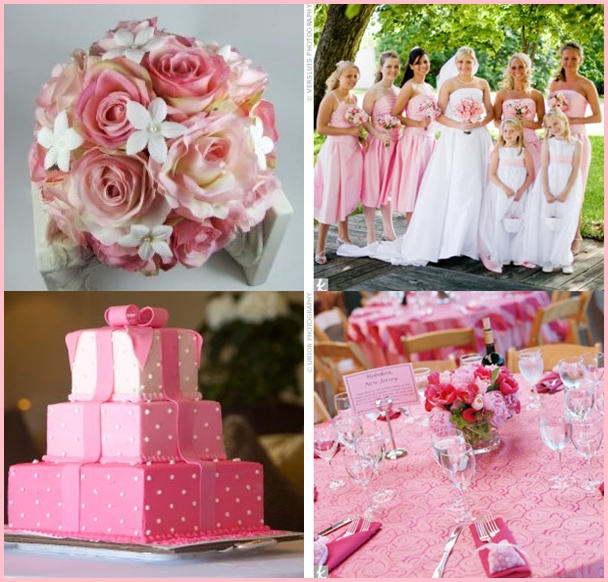 Little bridezilla wedding theme great colour combos - Combination of green and pink ...