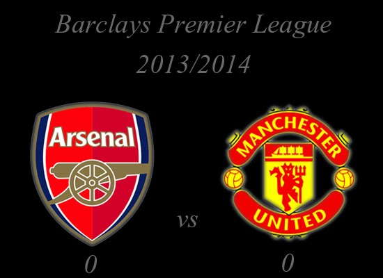 Arsenal vs Manchester United Result Barclays Premier League 20132014