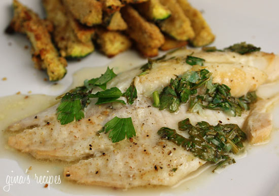 Titus Two: Baked Garlic Lemon Tilapia