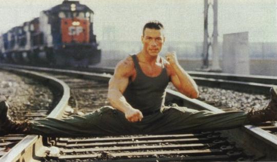 Jean-Claude Van Damme Dancing To Minimal Techno In North Korea