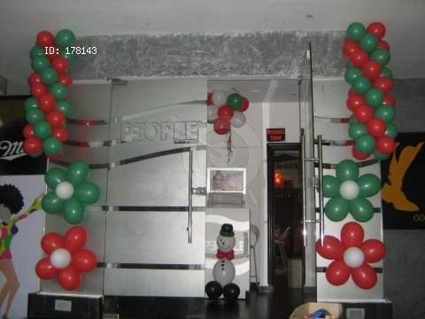 Decoracion globos navidad - Decoracion de navidad con globos ...