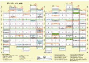 Calendario Islmico (2012)