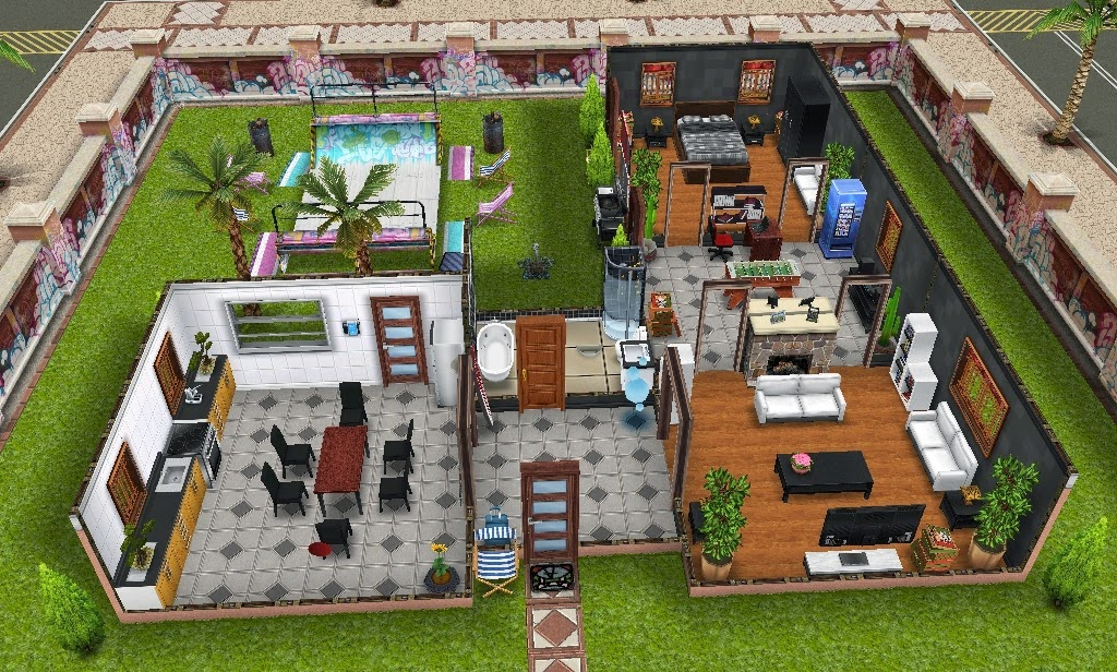 Sims FreePlay: Pro Skaters Dream Pad